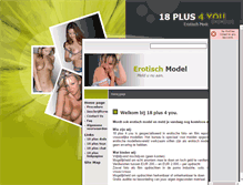 Tablet Preview of 18plus4you.nl